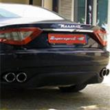 MASERATI GranTurismo Coupè 4.2i V8 (405 Hp) '07 -> Supersprint rear exhaust with valve