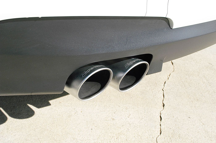 Detail of 986626 Endpipe kit Right OO90 - Left OO90 (SATIN FINISH)
