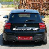 New BMW F20 M135i full exhaust system