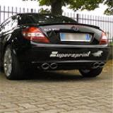 MERCEDES R171 SLK 350 V6 -> Supersprint full exhaust system