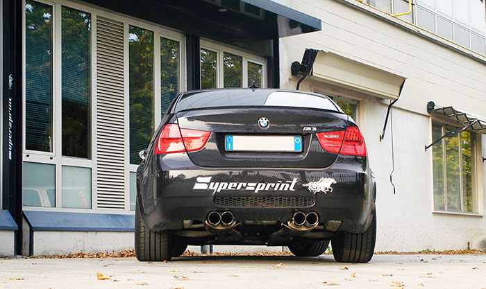 Supersprint full exhaust system: 980702 + 980722 + 980703 + 045376 + 045356