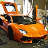 Exhaust system for Lamborghini Aventador LP 700