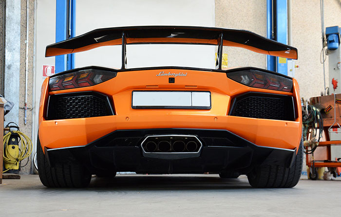 LAMBORGHINI AVENTADOR LP 700-4 V12 2011 –› Supersprint full exhaust system