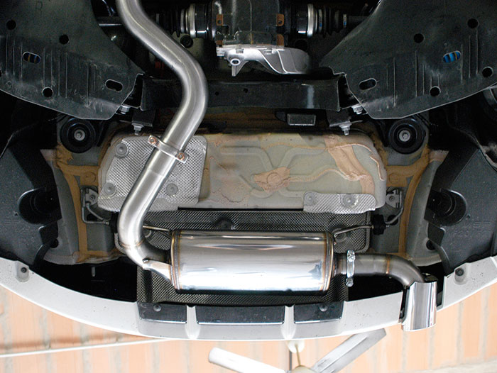 988304 Rear exhaust + 988314 Endpipe O 90