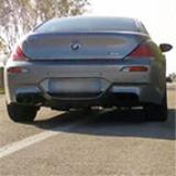 "BMW E63 Coupè M6 5.0i V10 -> Supersprint Catback system (Rear exhausts ""F1 Race"")"