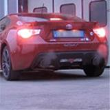 "TOYOTA GT86 (200 Hp) 2012 -> Full Supersprint exhaust system (""Racing"" muffler)"