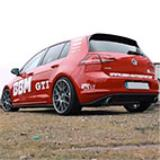 VW GOLF VII GTI 2.0 TSI (220 Hp) 2013 -> Supersprint full exhaust system - BBM Motorsport (2)