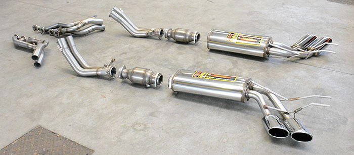 Full Supersprint exhaust system: 847301 + 847332 + 847302 + 847337 + 847307