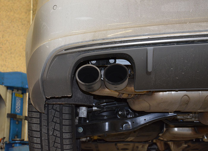 Stock endpipe