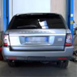 Exhaust system development for Range Rover 3.0 TD V6 2010-2012