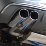 Exhaust system development for Audi A3 S3 8VA Sportback QUATTRO 2.0i TFSI 2013