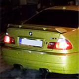 "BMW E46 M3 3.2i Coupé -> Supersprint ""Lightweight racing"" exhaust"