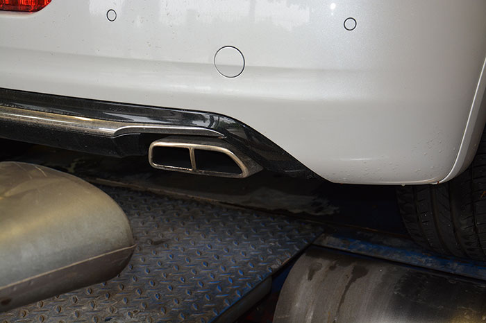 Stock endpipes