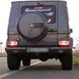 MERCEDES W463 G55 AMG V8 Kompressor -> Supersprint full exhaust system