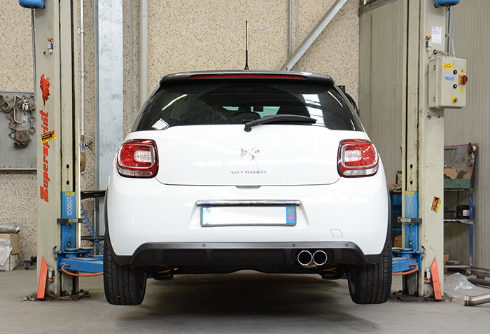 Full Supersprint exhaust system: 805711 + 805732 + 805413 + 805404 + 805416