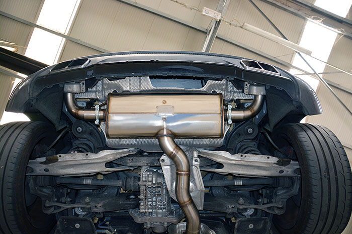 New Supersprint Performance Exhaust For Mercedes A45 Amg In Development: A45 Amg Exhaust At Woreks.co