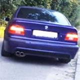 BMW E39 Sedan 540i V8 -> Supersprint full exhaust system