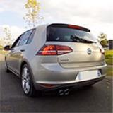 VW GOLF VII 1.4 TSI -> Supersprint Catback system