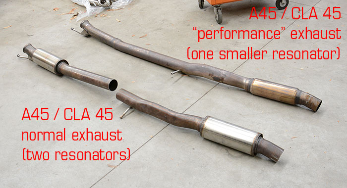 721614 Rear Pipe Ypipe Vs Stock Exhaust: A45 Amg Exhaust At Woreks.co