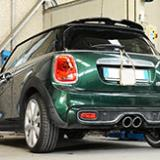 New Supersprint performance exhaust for Mini Cooper S F56 2014 in development