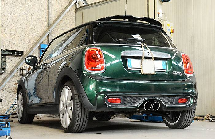 New Supersprint Performance Exhaust For Mini Cooper S F56 2014 In