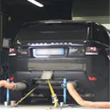 RANGE ROVER SPORT 5.0i V8 Supercharged (510 Hp) 2013 -> Supersprint full exhaust system - Dyno testing