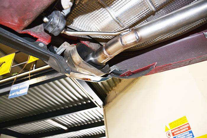 performance sport exhaust for octavia mk3 rs tdi, skoda octavia rs
