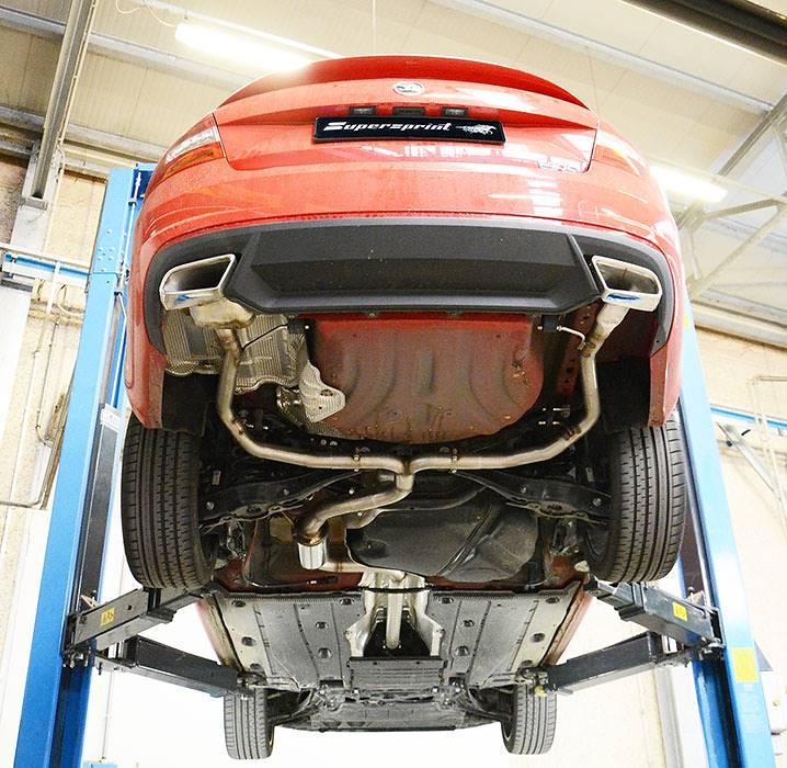 Performance Sport Exhaust For Octavia Mk3 Rs Tdi Skoda