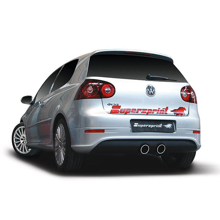 2009 Volkswagen Golf 5 1 6 Comfortline: Rohr Hinten OO100 (Nachschalldämpfer-Entfall) Für VW GOLF