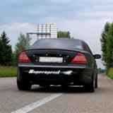 Mercedes C215 CL55 AMG - Full exhaust