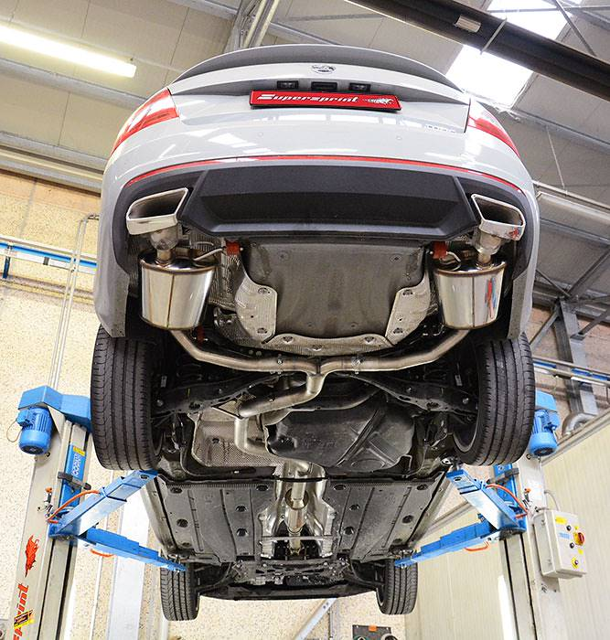 SKODA OCTAVIA RS 2.0 TSI (220 Hp) 2013 –› Supersprint Catback system