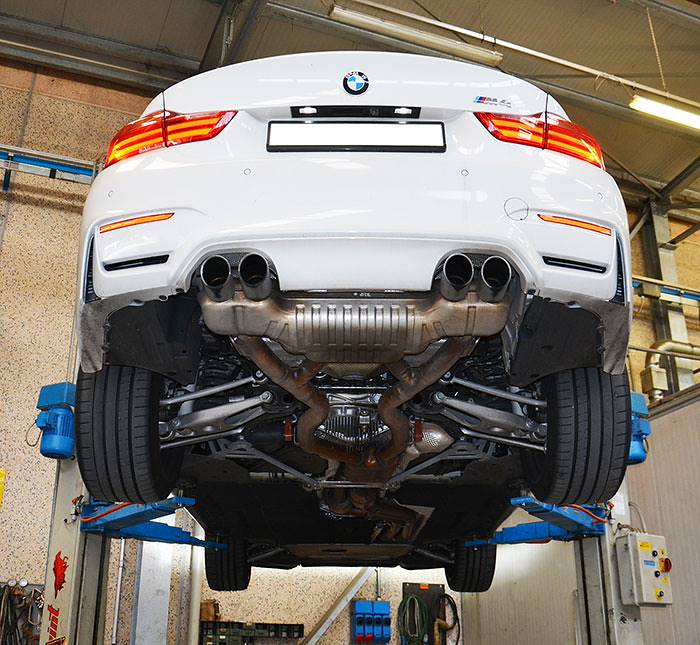 New Supersprint Performance Exhaust For Bmw M4 F82 And M3