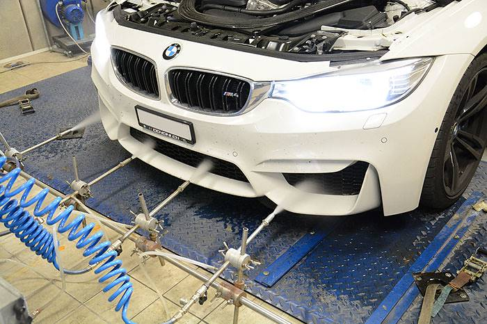 BMW F82 M4 Coupè (431 Hp) –› Dyno testing