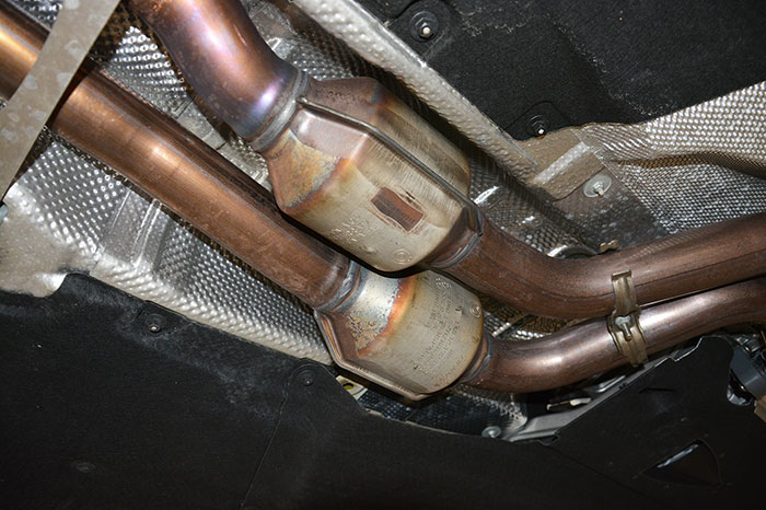 Stock catalytic converters