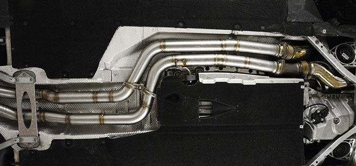 Prototype of 989612 Front pipes Kit (Replace main kats) Right + Left