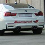 BMW F82 M4 Coupè (431 Hp) -> Supersprint full exhaust system