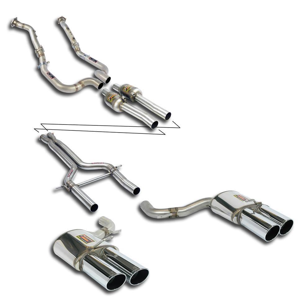 Supersprint Udstødninger til Porsche Panamera Turbo/S 4.8i