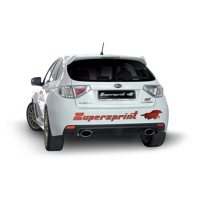 Subaru Impreza 2 5i Turbo Sti 08 Gt 11 Subaru Exhaust