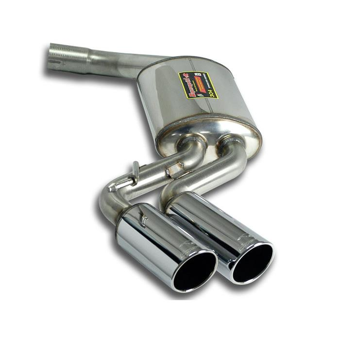 BMW - BMW E93 Cabrio 316d / 318d / 320d 2005 -> Rear exhaust OO80, performance exhaust systems