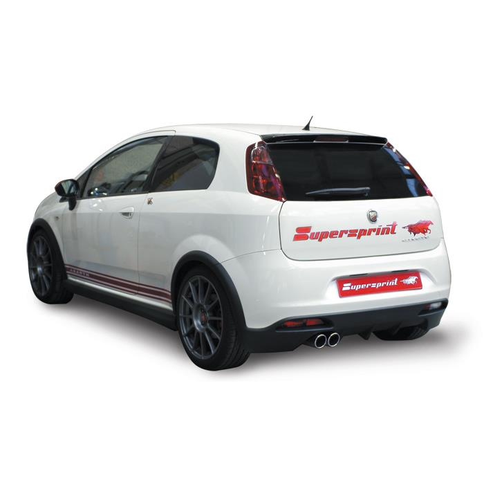 Abarth - GRANDE PUNTO ABARTH kit SS 1.4i T (180 PS) ' 08 ->