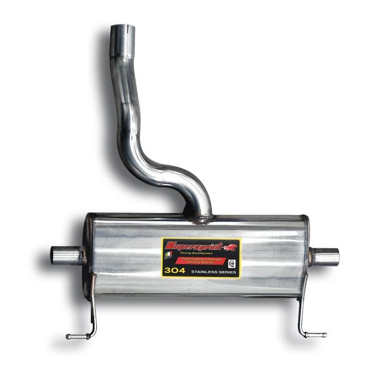 Renault - RENAULT CLIO III 2.0i RS (197 Hp) 2006 -> 2009 Rear exhaust Right - Left, performance exhaust systems