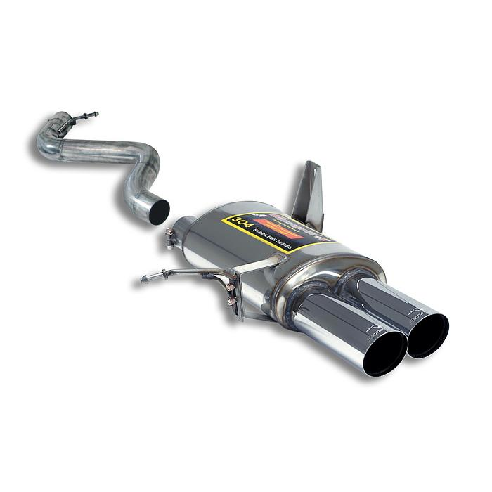 "BMW M - BMW E90 Sedan M3 4.0 V8 '07 -> '11 Rear exhaust Right OO80 "" Racing "", performance exhaust systems"