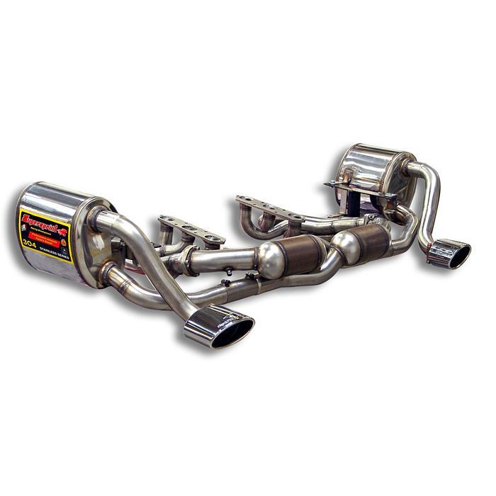Performance Sport Exhaust For Porsche 997 1 Carrera