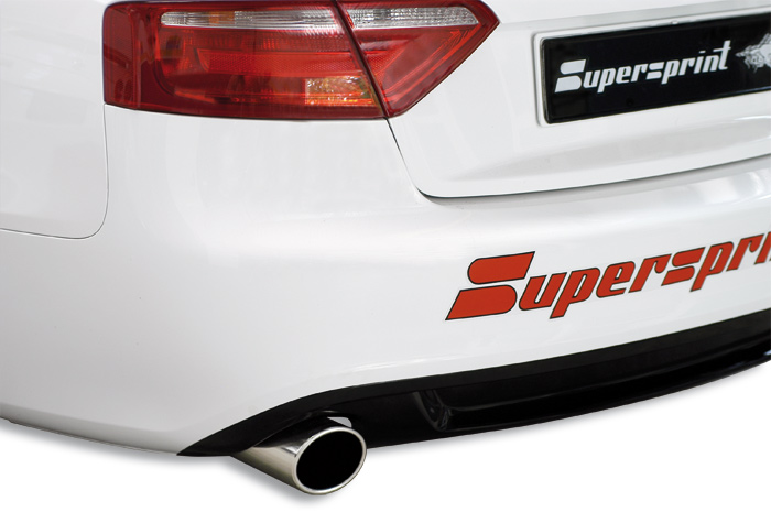 A5 3.0 TDI 239 hp with Supersprint sport exhaust