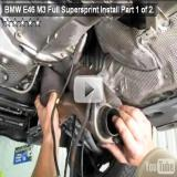 BMW E46 M3 Full Supersprint Install Part 1 of 2