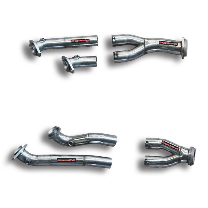 "Volkswagen - VW TOUAREG 6.0i W12 '05 -> '09 Connecting ""Y-Pipe"" Right - Left<br>(For OEM manifolds), performance exhaust systems"
