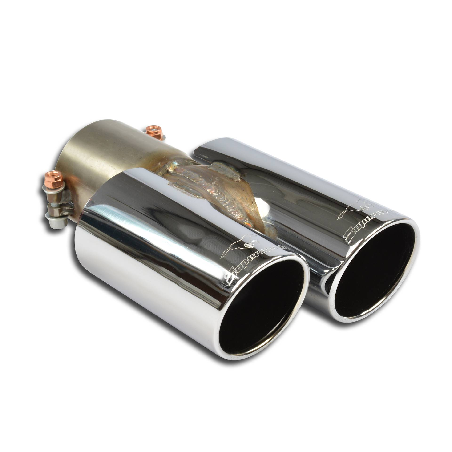 Volkswagen - VW SCIROCCO 2.0 TSI (200Hp/211 Hp) 2008 -> 2014 (Ø76mm) Endpipe kit OO80, performance exhaust systems