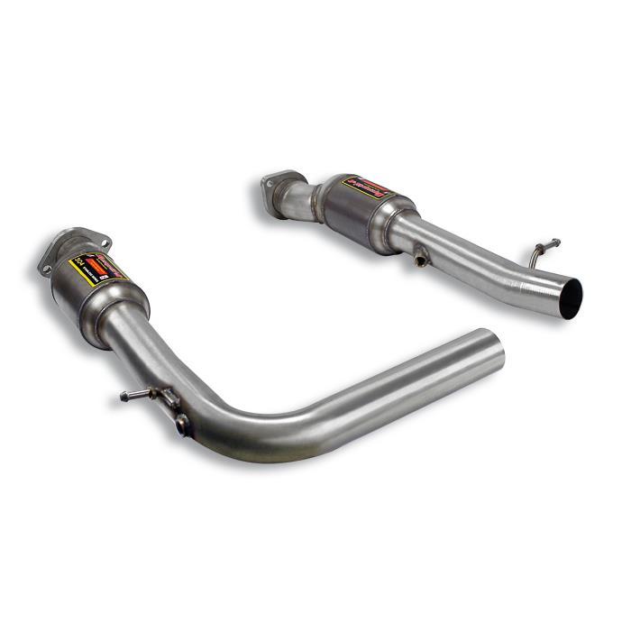 BMW - BMW E53  X5 4.8is V8 (N62) '05 -> '06 Front  Metallic catalytic converter Right - Left, performance exhaust systems