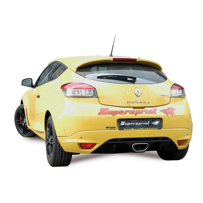 renault megane iii rs 250 scarico completo supersprint accelerazione e passaggio video ufficiali. Black Bedroom Furniture Sets. Home Design Ideas