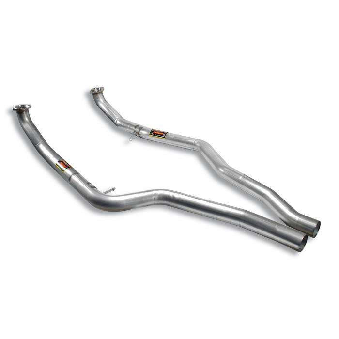 BMW M - BMW E70 X5 M V8 Bi-Turbo (555 Hp) 2010 -> 2013 Front pipes kit Right - Left, performance exhaust systems